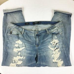 P12 Torrid Boyfriend Jeans